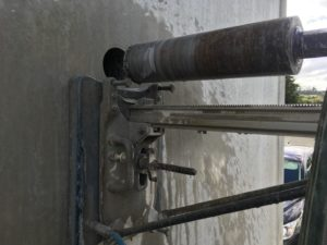 Drilling Concrete Walls