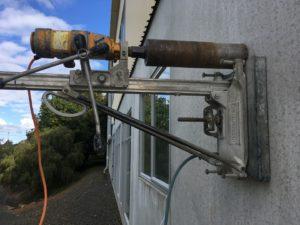 Drilling Concrete Walls
